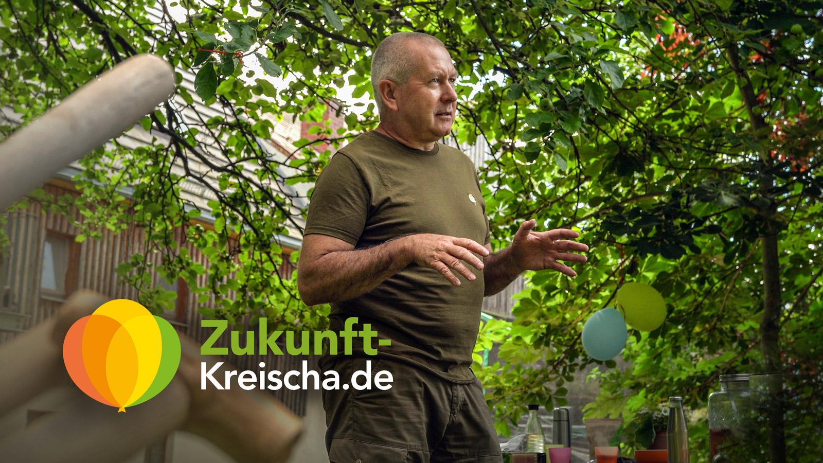 Permakultur-Experte Thomas Noack aus Nebelschütz spricht über Terra Preta